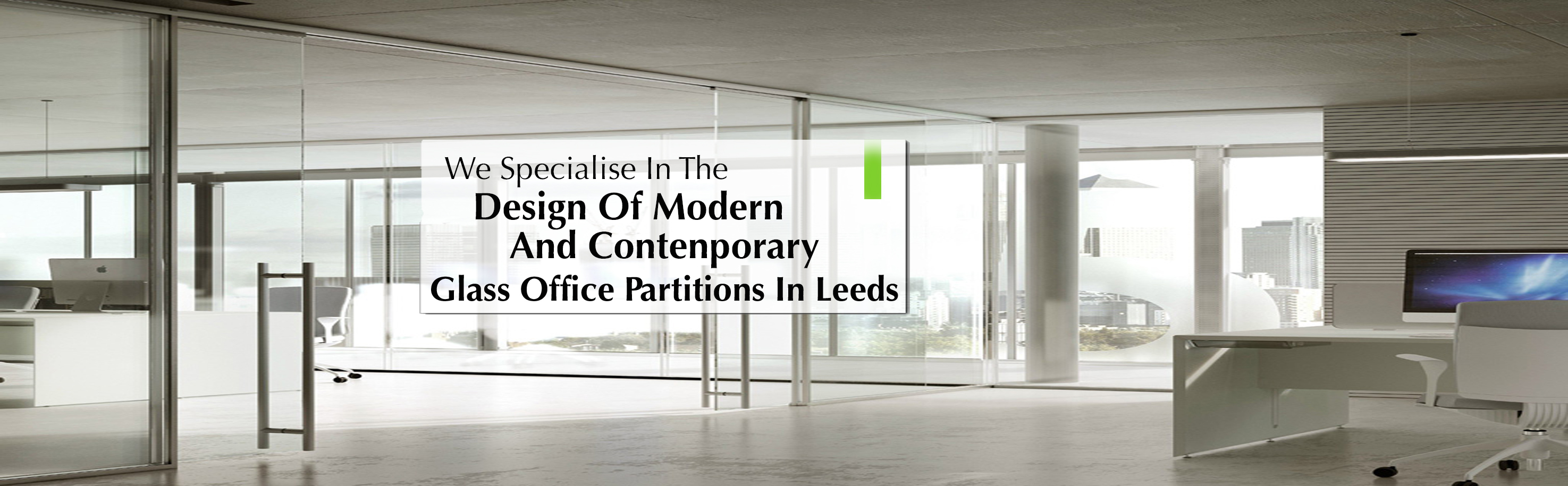 glass partitions Banner
